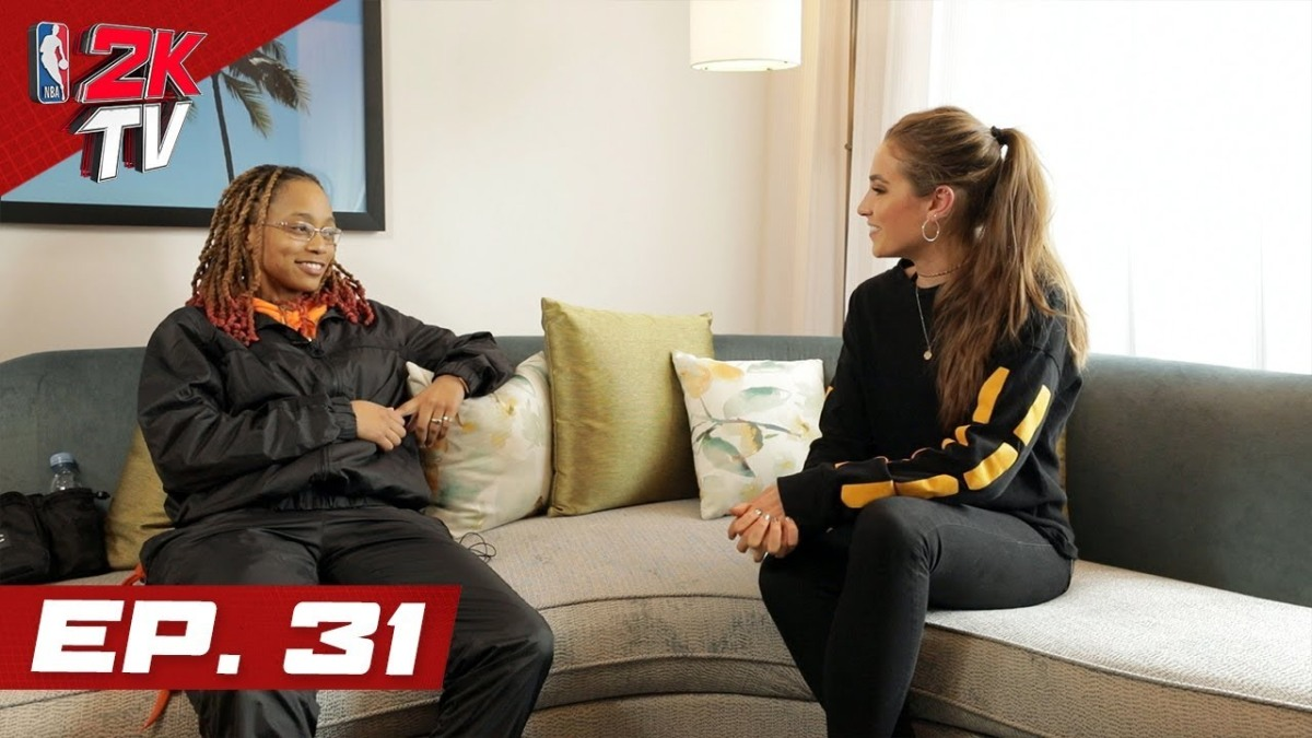 Vintage Lee Joins NBA 2KTV For A NewInterview