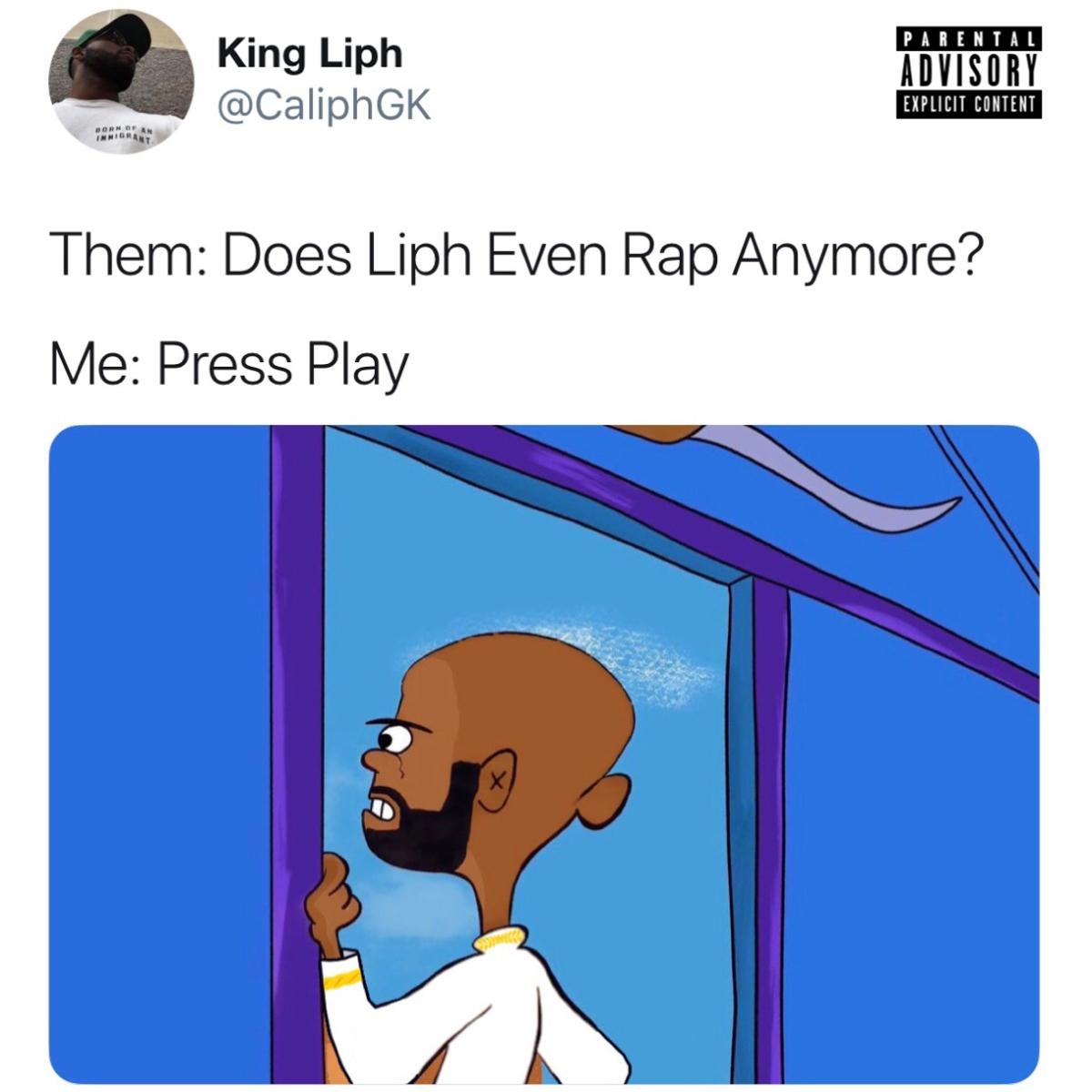 """[PREMIERE] Caliph – """"King Liph Freestyle"""" [Prod. RELLWTHEWAVECAP]"""