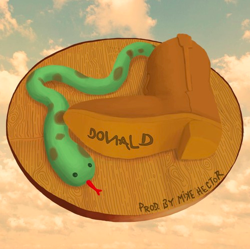 "Donald Grunge – ""Snake In My Boot [Prod. Mike Hector)]"